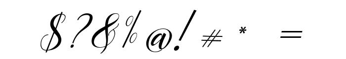 Mottingham Elegant Calligraphy Font OTHER CHARS