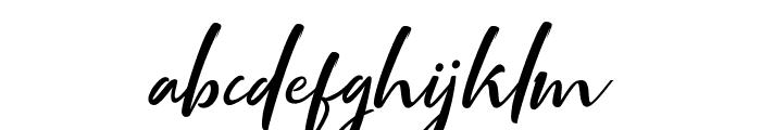 Mottingham Script Regular Font LOWERCASE