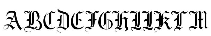 Mottisfont No 1 Font UPPERCASE