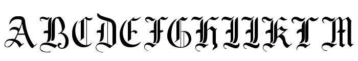 MottisfontNo2 Font UPPERCASE