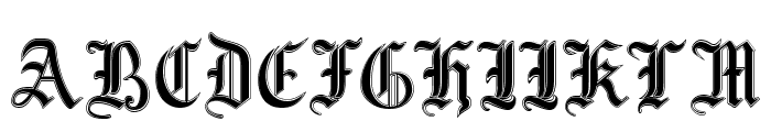 MottisfontNo3 Font UPPERCASE