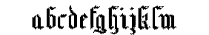 MottisfontNo3 Font LOWERCASE