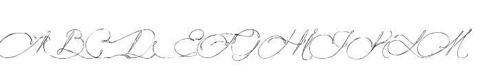 Mougatine Font UPPERCASE