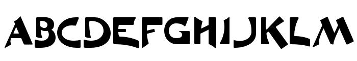 MoulinRougeFLF Font UPPERCASE