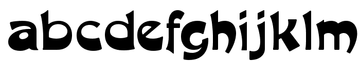 MoulinRougeFLF Font LOWERCASE