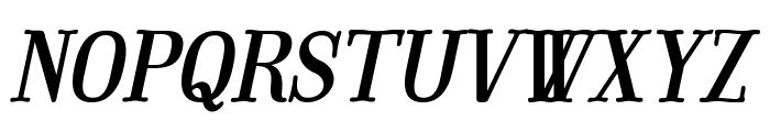 Mount Italic PERSONAL USE ONLY Font UPPERCASE