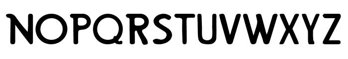 Mount Retro Regular Font UPPERCASE