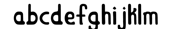 Mount Retro Regular Font LOWERCASE