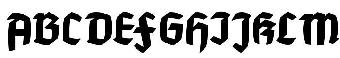 MountFirtree Font UPPERCASE
