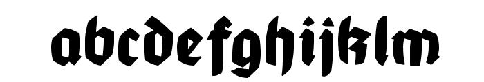 MountFirtree Font LOWERCASE