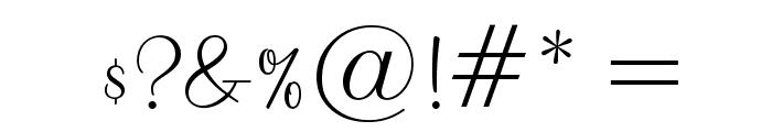 MountainScriptOpti Font OTHER CHARS