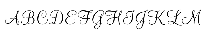 MountainScriptOpti Font UPPERCASE