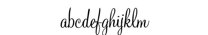MountainScriptOpti Font LOWERCASE