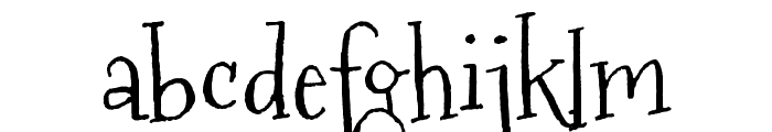 Mountains of Christmas Font LOWERCASE
