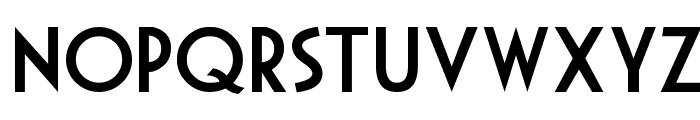 Mouse Deco Font UPPERCASE