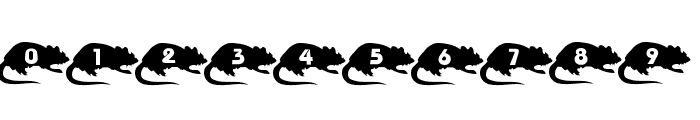 Mouse Group Font OTHER CHARS