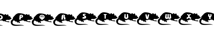 Mouse Group Font UPPERCASE