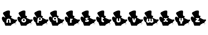 Mouse Group Font LOWERCASE