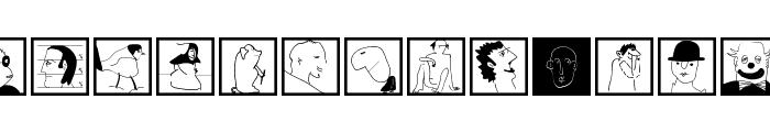 MouseScribblesKTwo Font LOWERCASE