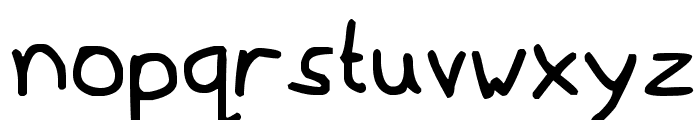 Mousedrawn Font LOWERCASE