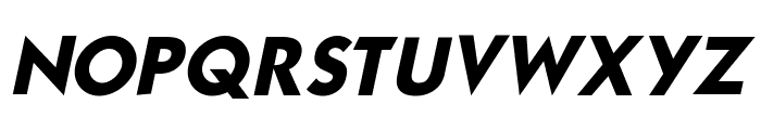 Mouser Italic Font UPPERCASE