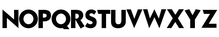 Mouser Font UPPERCASE