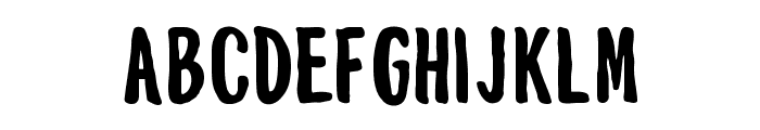 Mouthpiece Regular Font LOWERCASE