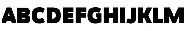 Movavi Grotesque Black Font UPPERCASE