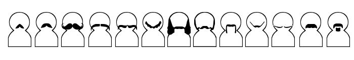 Movember Font UPPERCASE