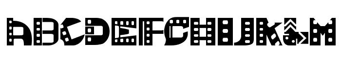 Movie SoundtracK SemiBold Font UPPERCASE