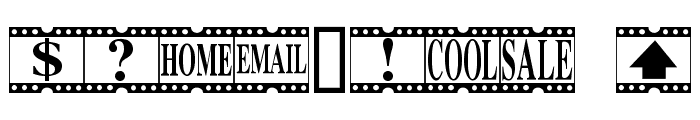 Movie Times Font OTHER CHARS