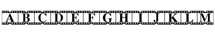Movie Times Font UPPERCASE