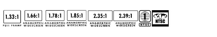 MovieRatingsAndFormats Font UPPERCASE