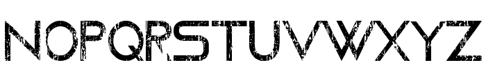 Moving Forward - LJ-Design Studios Grunge Font UPPERCASE