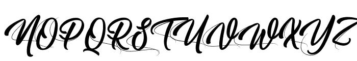 Moving Skate Font UPPERCASE