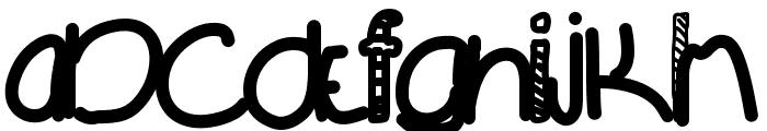 MovingOn Font LOWERCASE