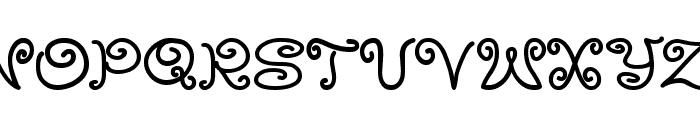 MoxyRoxie Font UPPERCASE