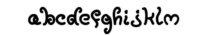 MoxyRoxie Font LOWERCASE