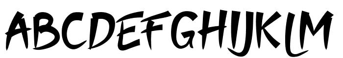Moyko Font UPPERCASE