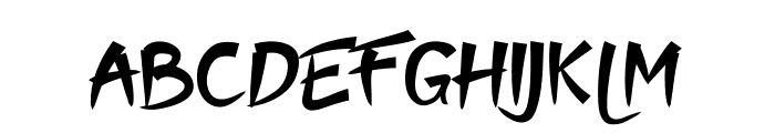 Moyko Font LOWERCASE