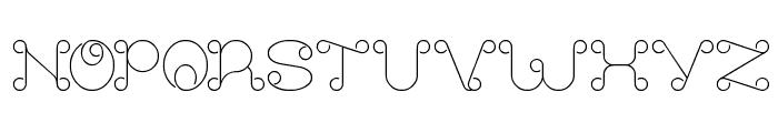 modern aristrocrat Font UPPERCASE
