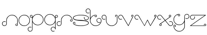 modern aristrocrat Font LOWERCASE