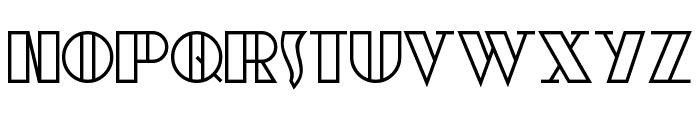 moebius Font LOWERCASE