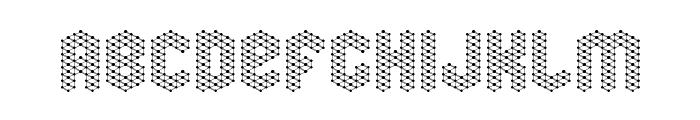 molecular complex 1 Regular Font LOWERCASE