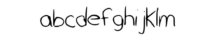 monicagalaxy Font LOWERCASE