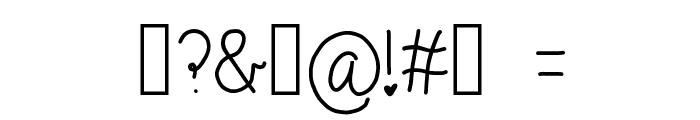 monkeybutt Font OTHER CHARS