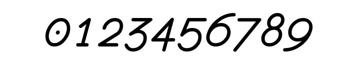 monofur   italic Font OTHER CHARS