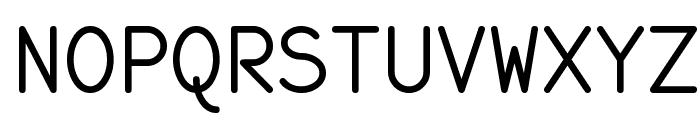 monofur Font UPPERCASE