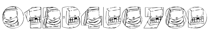 monsterboxes Font OTHER CHARS