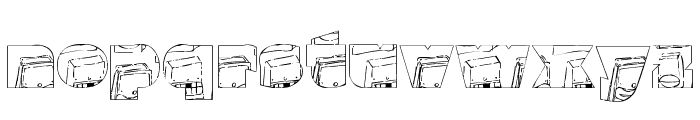 monsterboxes Font LOWERCASE